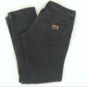 Dolce & Gabbana tux stripe black jeans sz. 44
